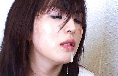 Japanese AV Model is fucked doggy style after sucking the dong