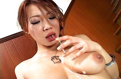 Misaki Asou is one of the bustiest Asian girls out there and here you will be seeing her giving the best blowjob where she gets some serious deepthroa