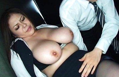 Yuuki Sakurai Asian has huge boobs undressed and nipples sucked