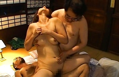 Chisato Shouda enjoys being fucked and groped by two men