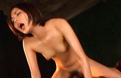 Saryuu Usui Asian milf fucks her date in hardcore wet cock ride